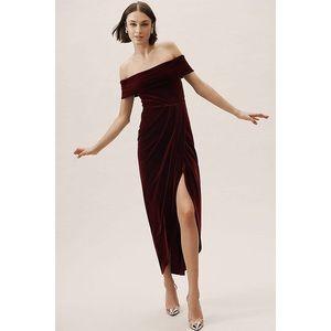 NWOT Anthropologie BHLDN Edison Velvet Dress